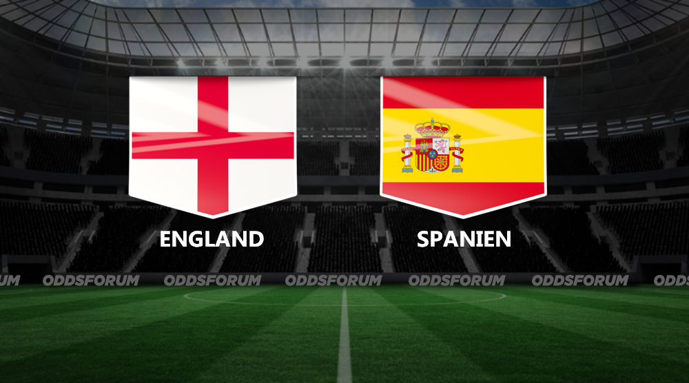 England - Spanien odds: Spil på kampen i Nations League Liga A
