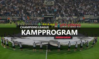 Kampprogram i Champions League 2018/19